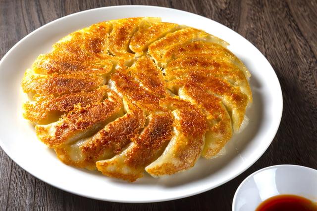 円形の焼き餃子